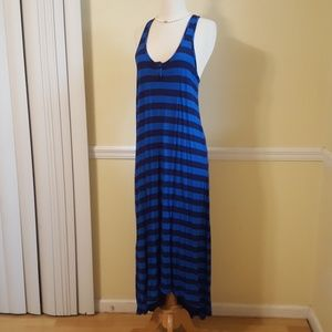 Splendid size 6 Maxi Dress High low Maxi Racerback
